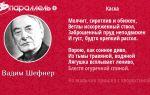 Вадим шефнер стихи: читать все стихотворения, поэмы поэта вадим шефнер – поэзия