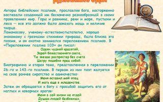 Иван хемницер – переложение псалма ломоносова: читать стих, текст стихотворения поэта классика