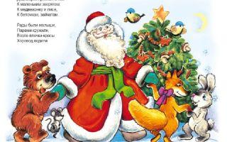 Короткие стихи про деда мороза: маленькие, небольшие стихотворения для детей на новый год