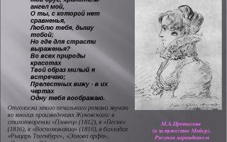 Стихи василия жуковского для детей: читать детские стихотворения жуковского – список