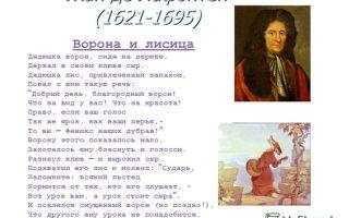 Жан де лафонтен – воля и неволя: читать стих, текст стихотворения поэта классика