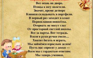 Стихи про первоклассников: красивые стихотворения о первоклашках поэтов классиков