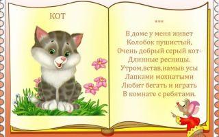 Стихи про домашних животных для детей, школьников: детские стихотворения классиков